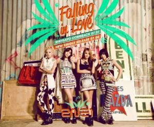 Falling in Love Lagu Baru 2NE1